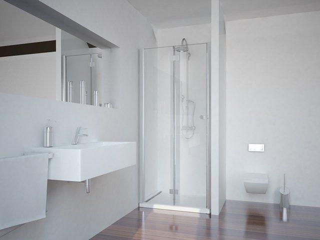 Sanotechnik Smartflex zuhanyfülke csuklóajtó 90 x 195 cm - balos kivitel (D1290FL)
