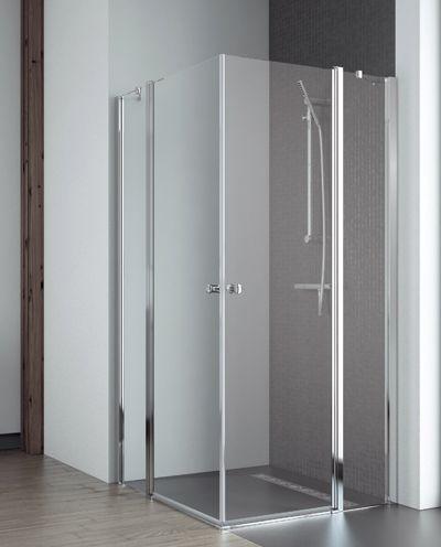 Radaway Eos II KDD szögletes nyílóajtós zuhanykabin 80 / 90 / 100 cm, 195 cm magas