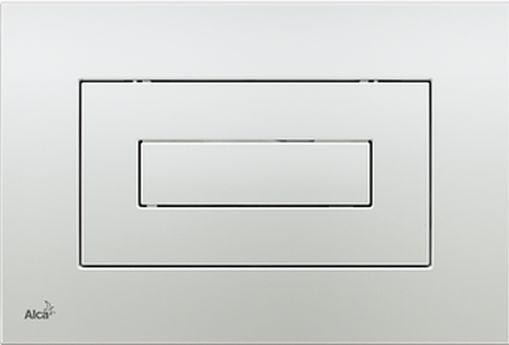 Alcaplast M471 Kezelőgomb előtétfalas rendszerekhez (Ezüst)