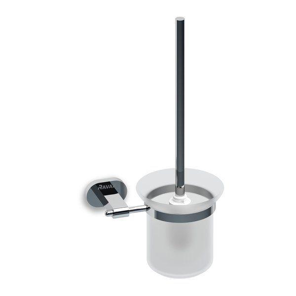 Ravak Chrome Fali WC kefe tartó (matt üveg) CR 410.00